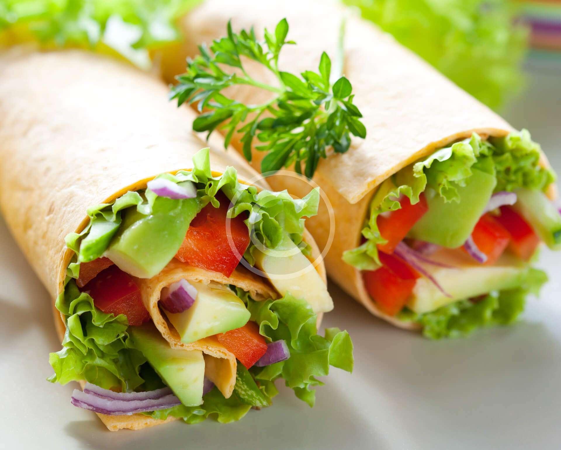Avocado Egg Salad Roll