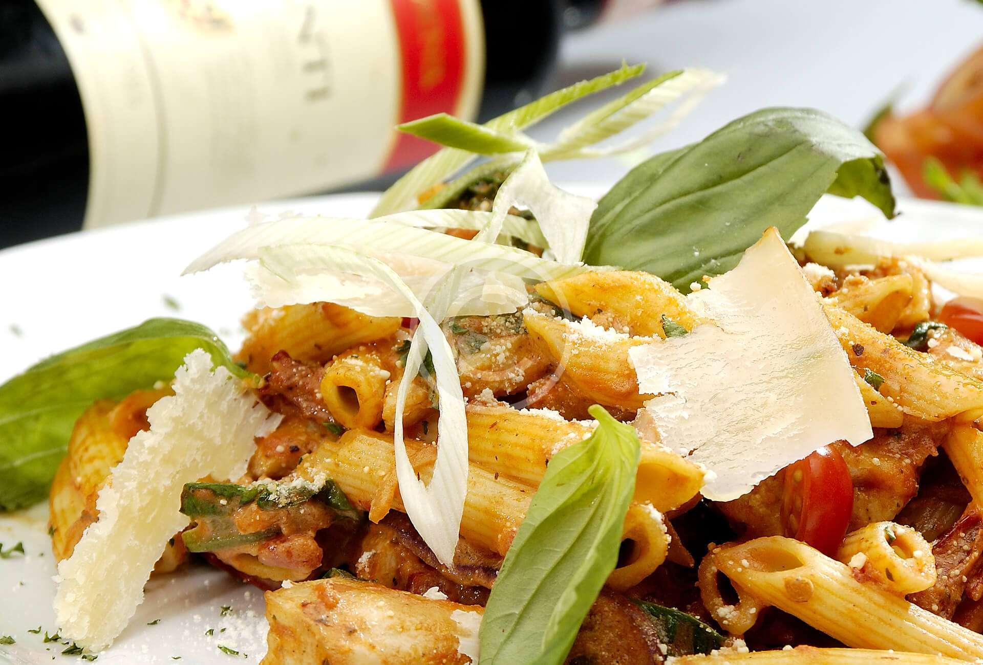 Gennaro's butternut squash & pancetta penne